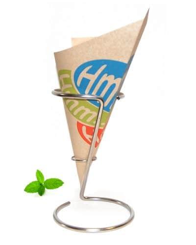 Chip cone Hmmm, paper chip cone Hmm