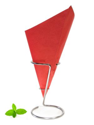 Paper Chip Cone Red, fish and chip cone made of 90 grams greaseproof paper
