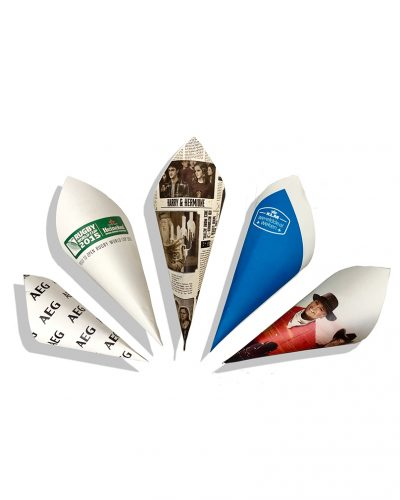 Personalised Chip Cones Category