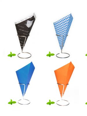 Paper Chip Cones product range overview